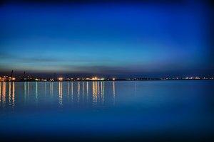 Night Coastline