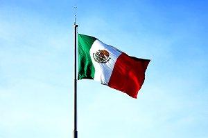 Mexico flag green