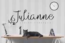 Julianne Script Typeface | 2$!