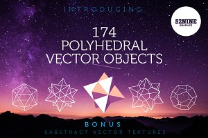 Polyhedral Vector Objects + Bonus!