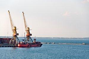 Two Port Cranes