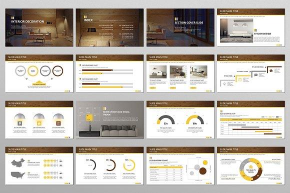 Interior Decoration Ppt Creative Powerpoint Templates Creative Market