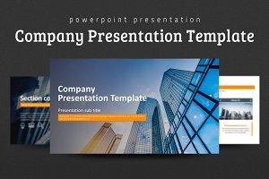 Company Presentation Template