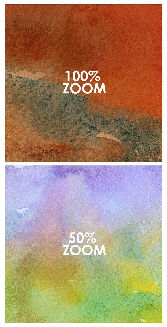 50% OFF Watercolor Backgrounds 3 in Textures - product preview 2