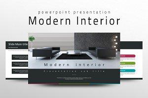 Modern Interior PPT Template