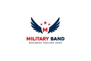 Military Band Logo Template