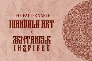Mandala x Patternable Zentangle