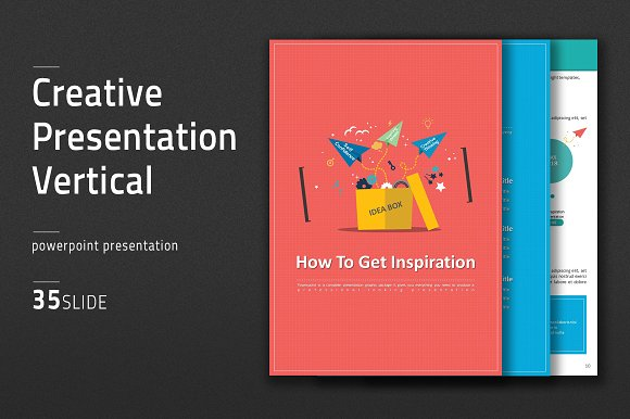 Creative presentation vertical presentation templates creative creative presentation vertical presentation templates creative market toneelgroepblik Images