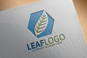 Leaf Logo Template
