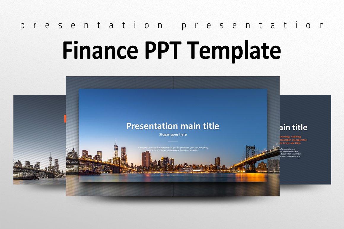 finance ppt template presentation templates creative market. Black Bedroom Furniture Sets. Home Design Ideas