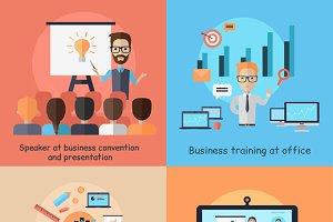 Business Online Seminar Banners