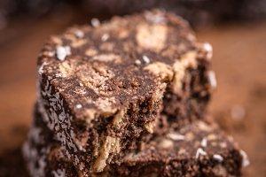 Salami chocolate cake