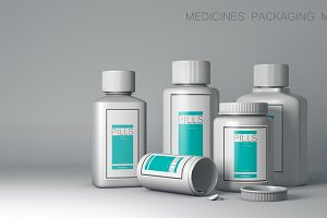 Medicines Packaging Mock-Up