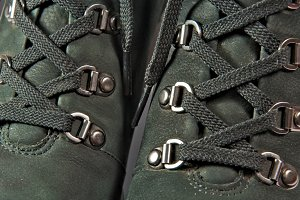 Shoelaces Closeup