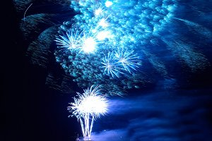 Сolorful holiday fireworks