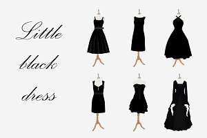Black woman dresses