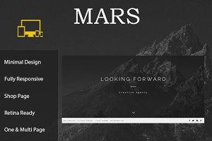 Mars - Creative Minimal Template