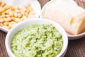 The Pesto sauce