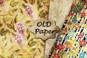 3 Old paper. Grunge.