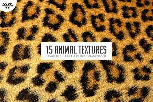 15 ANIMAL Textures