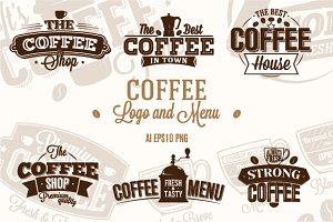 Coffee Logo & Menu