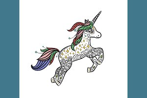 №129 Mythical Unicorn