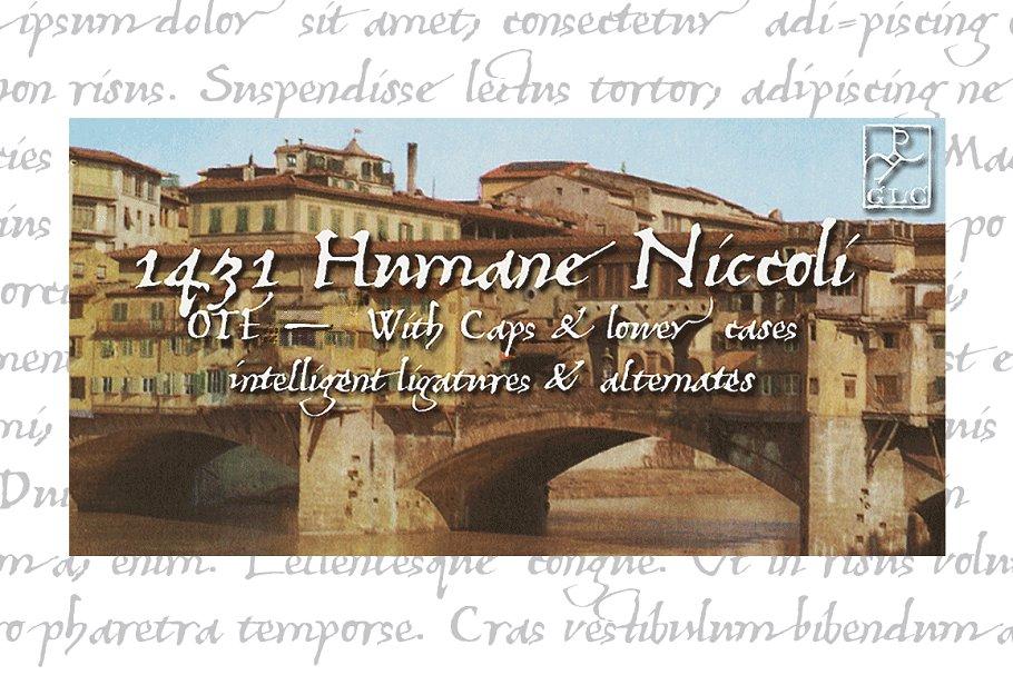 1431 Humane Niccoli OTF