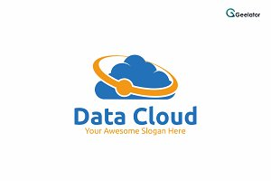 Data Cloud Logo Template