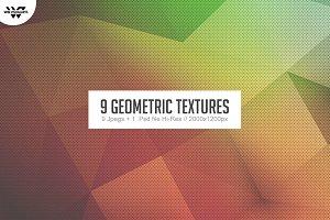 9 GEOMETRIC Textures