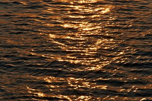 Sunset Sea Texture