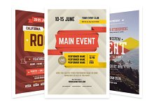 Event Poster Bundle, Vol.1