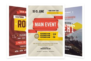 Event Poster Bundle, Vol.1