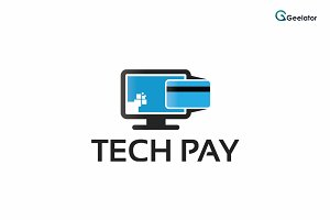 Tech Pay Logo Template