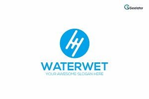 Waterwet Logo Template