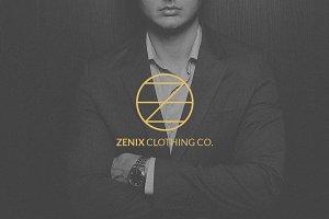 Zenix clothing co. - Luxury Logo