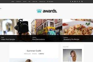 Awards - A Simple Blog Theme