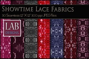 30 Lace & Sequins Fabric Textures