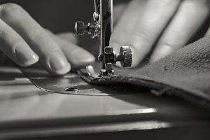 Vintage Sewing Process