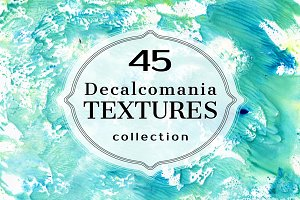 Decalcomania TEXTURES Collection