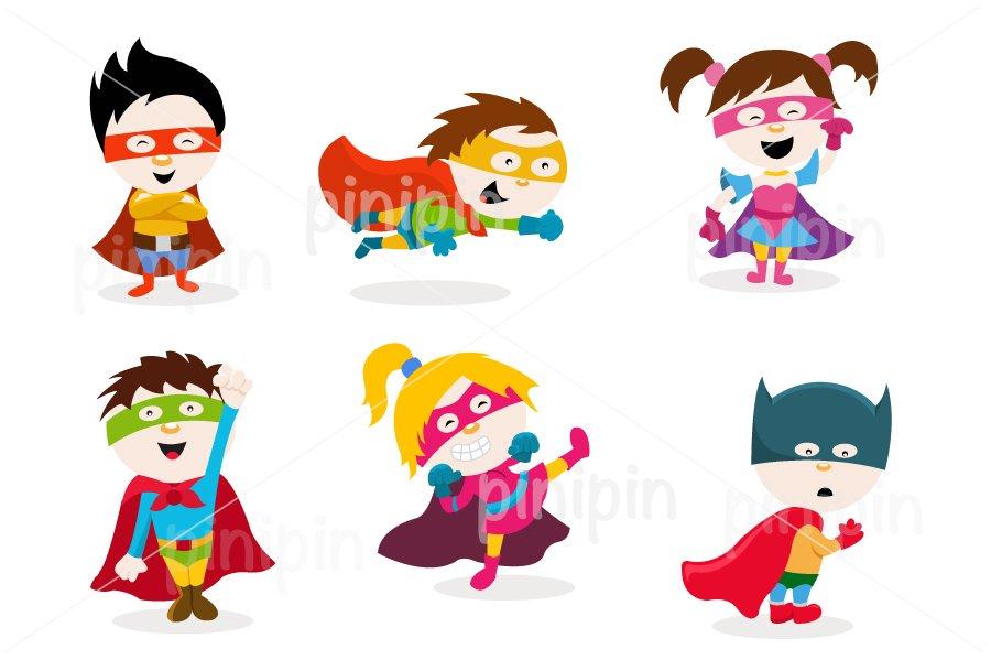Super Kids ~ Illustrations ~ Creative Market