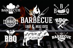 BBQ Emblems and Logos