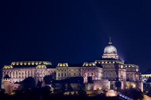 Architecture in Budapest Hungary
