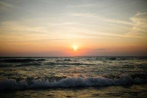 Beautiful Great Lakes Sunset