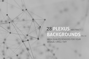 28 PLEXUS ABSTRACT BACKGROUNDS vol2