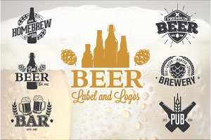 13 Beer Label and Logos