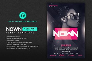 4in1 NOWN Flyer Template