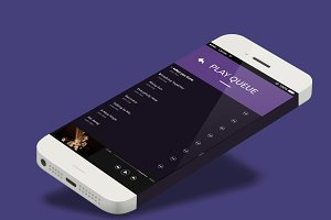 Quark Music player App Ui