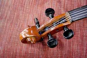 headstock violin