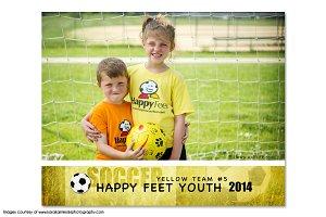 Soccer Memory Mate Template - T1