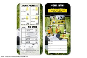Soccer Pricelist Template